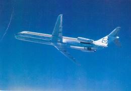 Inex Adria Yugoslavia DC 9 Airline Issue Postcard - 1946-....: Moderne