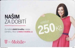 Czech Republic, T Com Mobile, Prepaid Card 250 Kč - Czech Republic