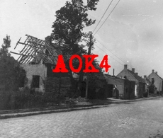 WOUMEN Diksmuide Straat Ruine 1917 1918 Flandern IJzer Yser Bunker Abri MEBU - Guerre, Militaire