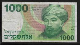 Israel - 1000 Shequalim - Pick N°49 - TB - Israel