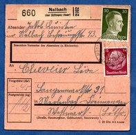Colis Postal  --  Départ Nalbach  - 5/6/1943 - Allemagne