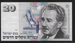 Israel - 20 Shequalim - Pick N°54 - TTB - Israel