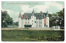 38 Saint Siméon De Bressieux, Chateau De Gauttefred (3554) - Other Municipalities