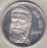 Bulgarie.  5 Leva 1976 . Khristo Botev. Argent. KM# 96 - Bulgaria