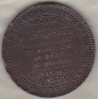 Monneron. 5 Sols 1792 An IV, Position B .Variété Avec Le Point. - 1789 – 1795 Monete Costituzionali