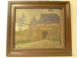 LEBLANC Jules-René - La Porte De France De ? - Peinture XIXe - école Française - Oils
