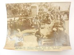 IRAK BAGDAD PHOTO LES FUNERAILLES DE GHAZI 1er ROI D' IRAK - Iraq