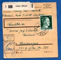 Colis Postal  --  Départ Lienz- - Allemagne