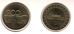 25 PEUGEOT 2010 Monnaie De Paris - Monnaie De Paris