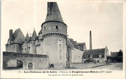 41 - FOUGERES Sur BIEVRE --  Château - Vue Prise Du Côté De La Grosse Cour - France