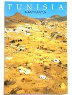 #327  Cave Dwellings,  TROGLODYTE Houses - МАТМАТА TUNISIA - Postcard - Tunisia