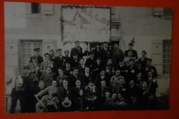 CARTE PHOTO CONSCRITS CLASSE 1932 - Militaria