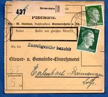 Colis Postal  --  Départ Germersheim -- 11/5/1943 - Allemagne