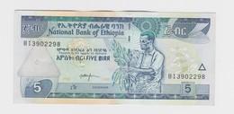 5 Birr 2008 Etat Neuf - Ethiopie