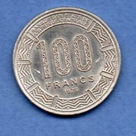 Gabon  -- 100 Francs 1975  -- Km # 13 - état Sup - Gabon