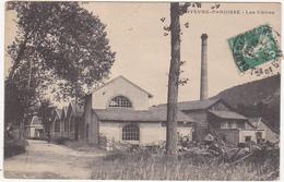 25 - HYEVRE-PAROISSE - Les Usines - 1914 - Otros Municipios