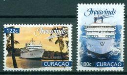 Curacao 2018  Freewinds  Schip  Ship  Shiffe   Bateaux Postfris/mnh/neuf - Periode 1980-... (Beatrix)
