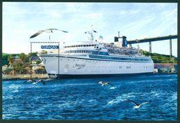 Curacao 2018  Freewinds  Schip  Ship  Shiffe   Bateaux  Blok  M/s Postfris/mnh/neuf - Periode 1980-... (Beatrix)