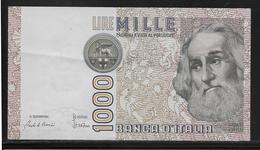 Italie - 1000 Lire - Pick N°109 - SPL - [ 2] 1946-… : Républic
