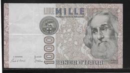 Italie - 1000 Lire - Pick N°109 - TTB - [ 2] 1946-… : Républic