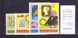 TIMBRE................TANZANIE 139/142 - Tanzania (1964-...)