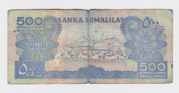 500 Shillings Somaliland (Le Pays Qui N'existe Pas)  Usagé - Somalia