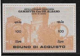 Italie - Chèque - 100 Lire - NEUF - [10] Checks And Mini-checks