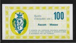 Italie - Chèque - 100 Lire - NEUF - [10] Chèques