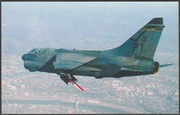 LTV A7D Corsair II Fighter In Flight - Aviationcards Postcard - 1946-....: Modern Era