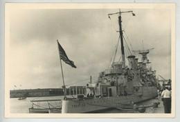 Bateau De Guerre . Croiseur Léger Classe Omaha Le Trenton . - Barche