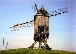 PAMEL - Roosdaal (Vlaams-Brabant) - Molen/moulin - De Verdwenen Standaardmolen 'De Pauselijke Zoeaaf' In Mei 1965 - Roosdaal