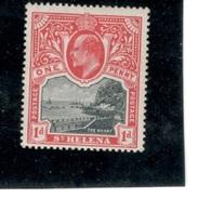 SaintHelena1912:Michel41a(Scott62)mh* - Saint Helena Island