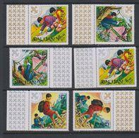Bhutan 1972 Scouting 6v ** Mnh (39133) - Bhutan
