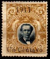 Guatemala-0063 - Emissione 1911 (+) Hinged - - Guatemala