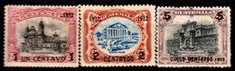 Guatemala-0065 - Emissione 1912 (+) Hinged - - Guatemala