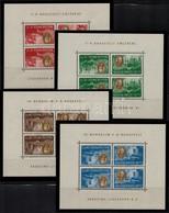 ** 1948 Roosevelt Fordított Képállású Négyes Kisívsor Nagyon Szép állapotban! (130.000) - Stamps
