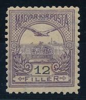 ** 1900 12kr 11 1/2 Fogazással, Szép, Hibátlan Darab RR! (110.000) - Stamps
