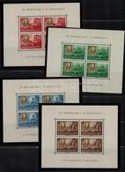 ** 1948 Roosevelt Egyenes Képállású Négyes Kisívsor Nagyon Szép állapotban! (90.000) - Stamps