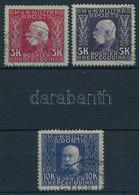 O Bosznia - Hercegovina 1912 3K, 5K, 10K (52.100) - Stamps