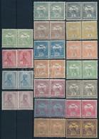 ** 1913 Turul Sor Párokban 70f és 80f Nélkül (39.200) - Stamps