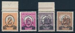 ** 1931 Kisegít? 501B-504B (30.000) (halvány Feketés Betapadás / Gum Disturbance) - Stamps