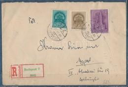 1943 Vágott Templom 30f Bélyeg Ajánlott Helyi Levélen, Nagyon Ritka! (csak Néhány Ismert) - Stamps
