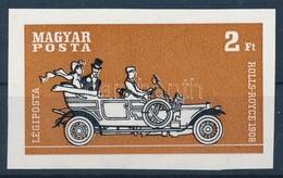 (*) 1970 Az Autó Története 2Ft Vágott Fázisnyomat Színek Nélkül - Stamps
