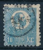 O 1871 K?nyomat 10kr (26.500) - Stamps