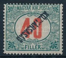 ** 1919 Köztársaság Portó 40f Fordított Felülnyomat (20.000) - Stamps