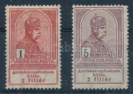 ** 1913 Árvíz 1K, 5K (22.000) - Stamps