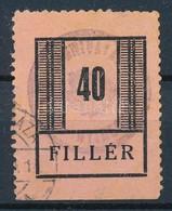 O Nyíregyháza I. 40f (25.000) - Stamps