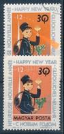 O 1963 Újév 30f A Kéménysepr? Haja Felfelé Tolódott + Támpéldány (20.000) - Stamps
