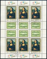 O 1974 Mona Lisa Kisív (13.000) - Stamps