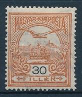 * 1913 Turul 30f Fekv? Vízjellel (13.000) - Stamps